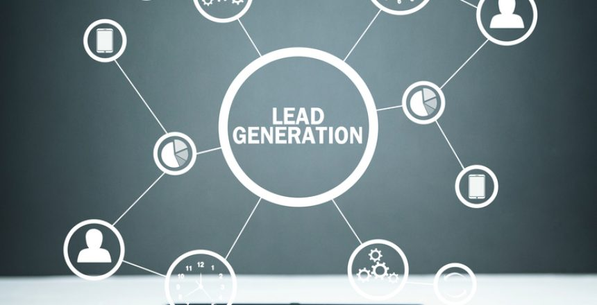 Lead Generation. Concept of business, network, technology, futur
