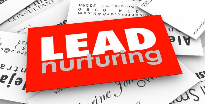 Lead Nurturing Business Cards Sales Funnel Prospects Customers